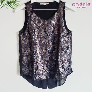 Forever 21 Tops - Forever 21 Contemporary Sequin Top Size SM